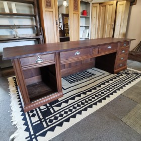 Huge French Oak Desk Desks