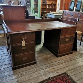 19thC Mahogany Desk Desks