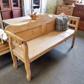 Pine Bench Stools, Benches & Pews