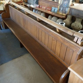 "10ft 6"" Pine Pew Stools, Benches & Pews"