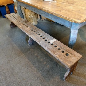 Pitch Pine Bench Stools, Benches & Pews