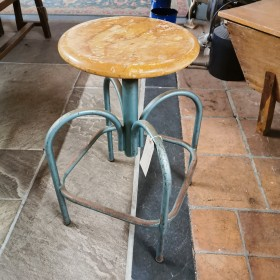 French Adjustable Kitchen Stool Stools, Benches & Pews