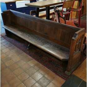 8ft Oak Pew Stools, Benches & Pews