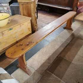 8ft Oak Bench Stools, Benches & Pews