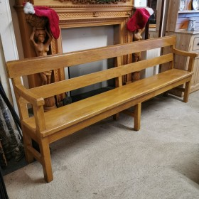 Pine Chapel Bench Stools, Benches & Pews