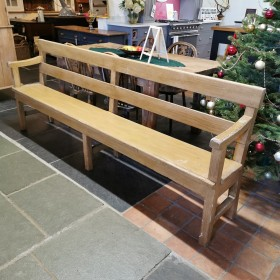Pine Chapel Bench (minor damage) Stools, Benches & Pews