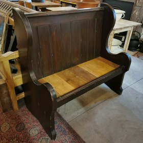 Reclaimed Settle Stools, Benches & Pews