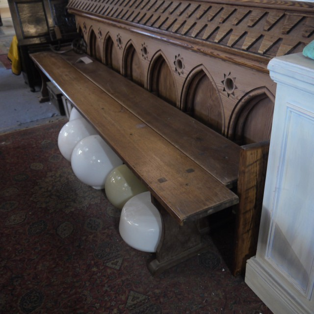 French Elm Benches Stools, Benches & Pews