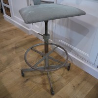 Reclaimed Industrial Stool Stools, Benches & Pews