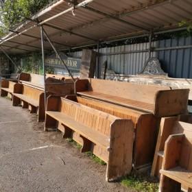 Large Pews Stools, Benches & Pews