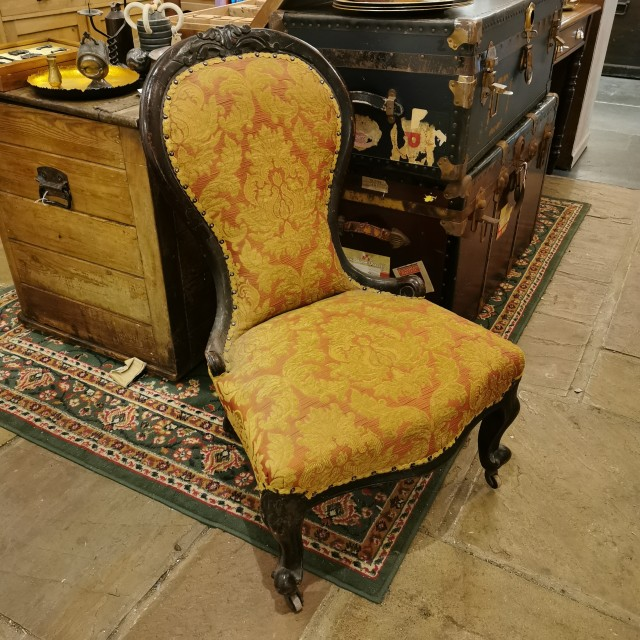 Victorian Nursing Chair Upholstered Chairs