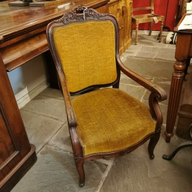 Early 20th C Bedroom Chair Upholstered Chairs