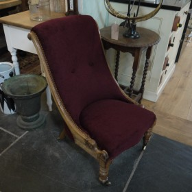 Victorian Chair Upholstered Chairs
