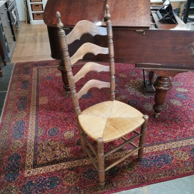 French Turned Chair Wooden Chairs