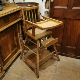 Metamorphic Wooden Highchair Wooden Chairs