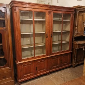 Large Glazed Bookcase Sideboards and Dressers