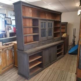 Huge Grey Dresser Sideboards and Dressers