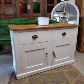White Painted Dresser Base Sideboards and Dressers