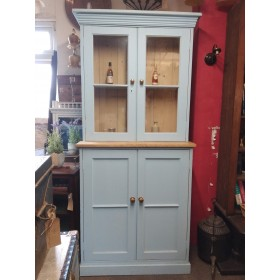 Blue Glazed Pine Dresser Sideboards and Dressers