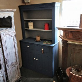 4ft Painted Blue Dresser Sideboards and Dressers