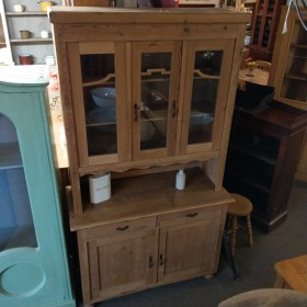 Pine Glazed Dresser Sideboards and Dressers