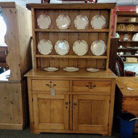 Waxed Pine Dresser Sideboards and Dressers