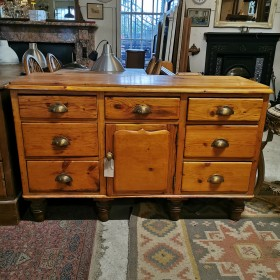 Stripped Pine Sideboard Sideboards and Dressers