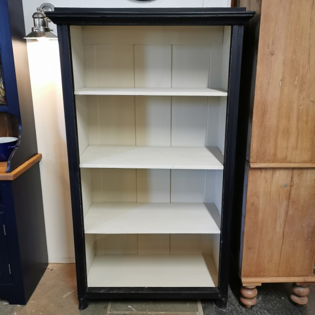 Black Painted Bookcase Sideboards and Dressers