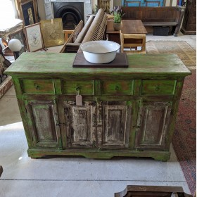 Green Painted Sideboard Sideboards and Dressers