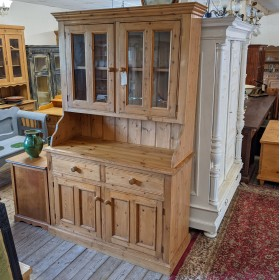 Pine Glazed Dresser Sideboards and Dressers
