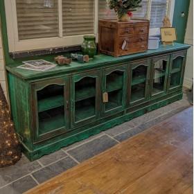 Dark Green Glazed Sideboard Sideboards and Dressers