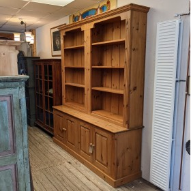 Large Pine Bookcase Sideboards and Dressers