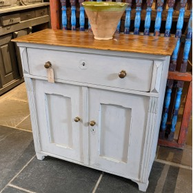 Grey Blue Sideboard Sideboards and Dressers