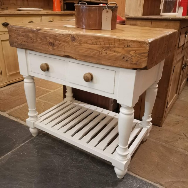 Butcher's Block Tables and Islands
