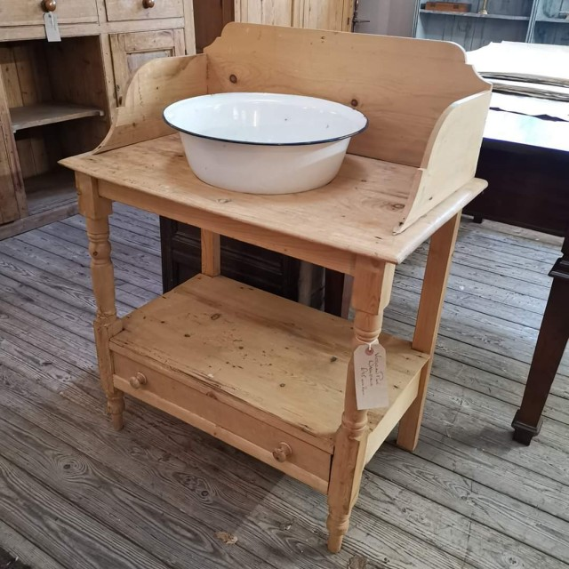 Victorian Pine Washstand Tables and Islands
