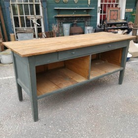 Grey Painted Island Tables and Islands