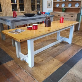 Pine Refectory Table Tables and Islands