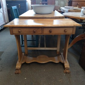 3ft Pine Side Table Tables