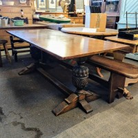 6ft Oak Refectory Table Tables