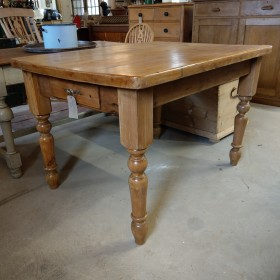 4ft x 3ft Pine Farmhouse Table Tables and Islands