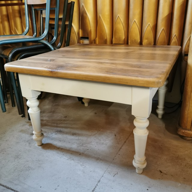 """2ft6"""" Square Coffee Table Tables and Islands"""