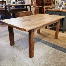 "5ft9"" x 3ft3"" Rustic Oak Table Tables and Islands"
