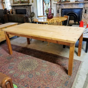 6ft x 3ft Pine Table Tables and Islands