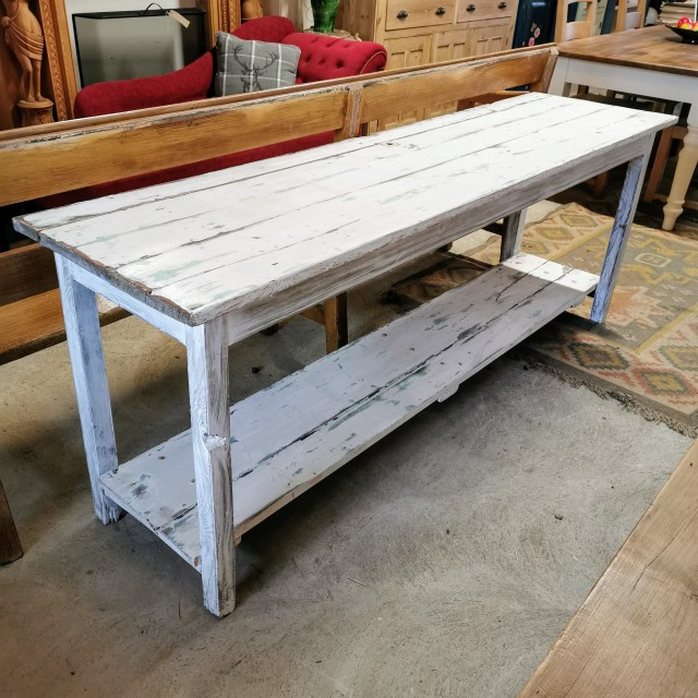 """6ft 6"""" Wide Console Table Tables and Islands"""