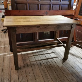 Small Pine Refectory Table Tables and Islands