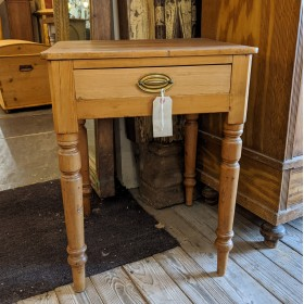 Pine Side Table Tables and Islands
