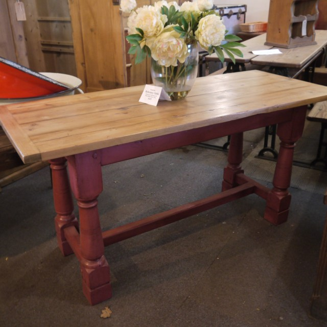 Reclaimed Refectory Table Tables