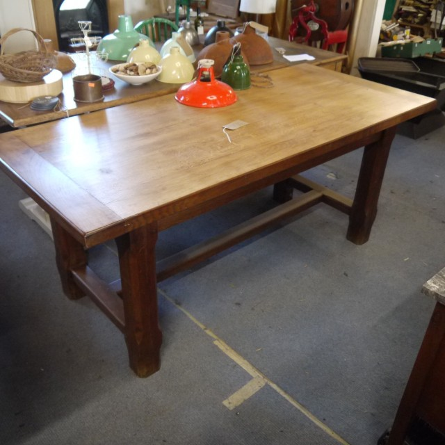 French Oak Refectory Table Tables