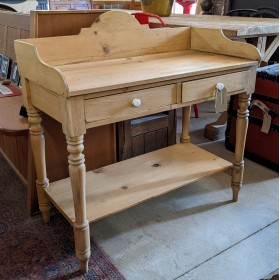 Pine Washstand Tables and Islands