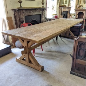 10ft Long Refectory Table Tables and Islands